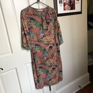 NWOT Tucker by Gaby Basora Floral Dress Medium